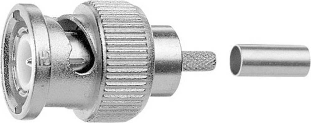 BNC-stikforbindelse Telegärtner J01002A1352z 75 Ohm Stik, lige 1 stk
