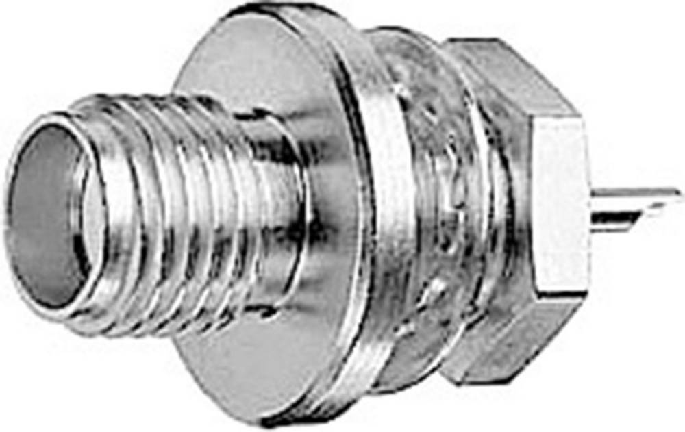 SMA-stikforbindelse Telegärtner J01151A1071 50 Ohm Tilslutning, indbygning 1 stk