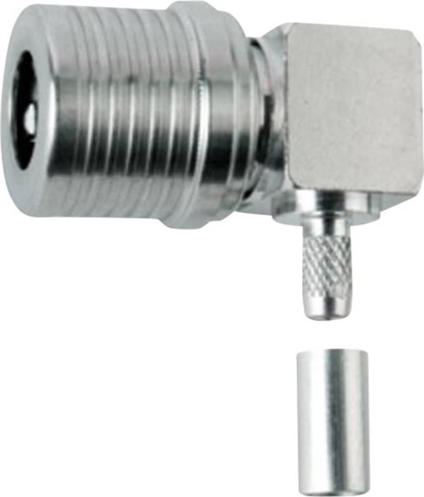QLS-stikforbindelse Telegärtner J01420A0105 50 Ohm Stik, vinklet 1 stk