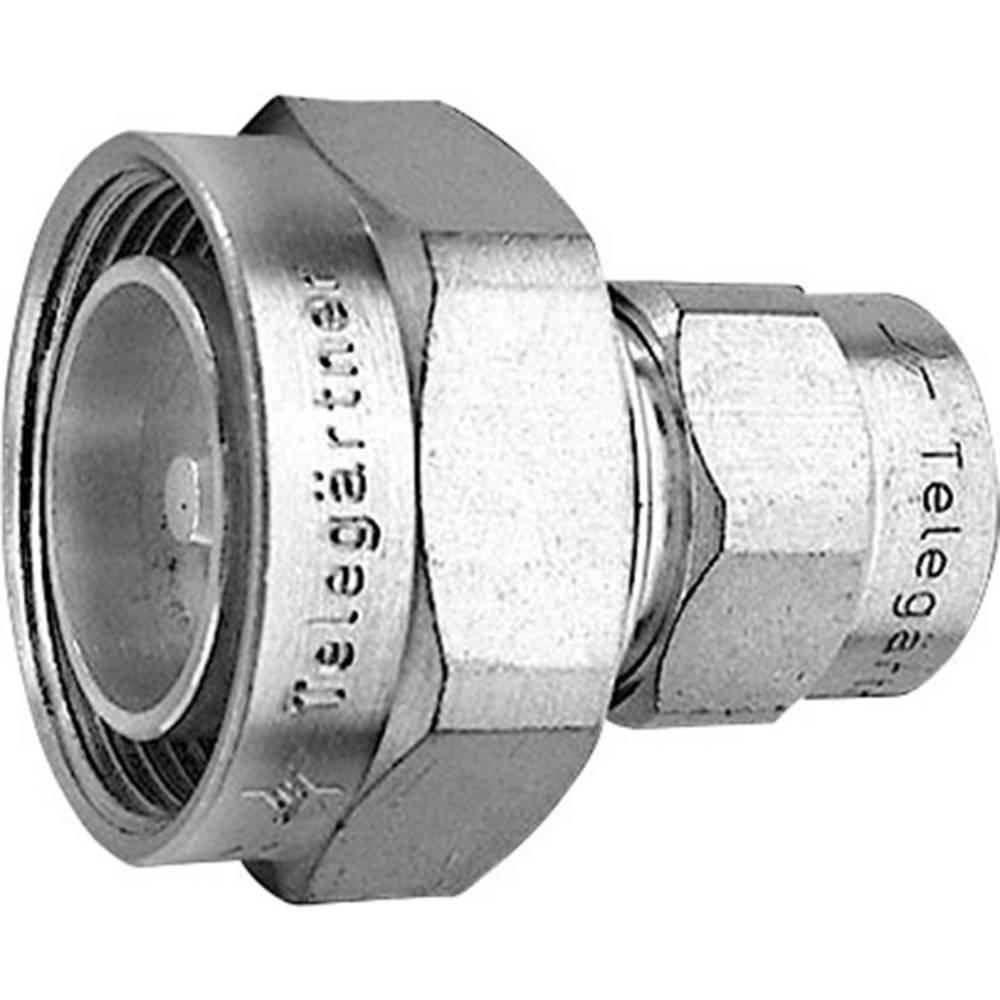 Koax-adapter 7-16-DIN-stik - N-stik Telegärtner J01122C0009 1 stk