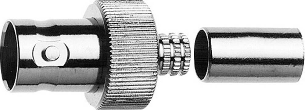 BNC-stikforbindelse Telegärtner J01003A0048 75 Ohm Tilslutning, lige 1 stk