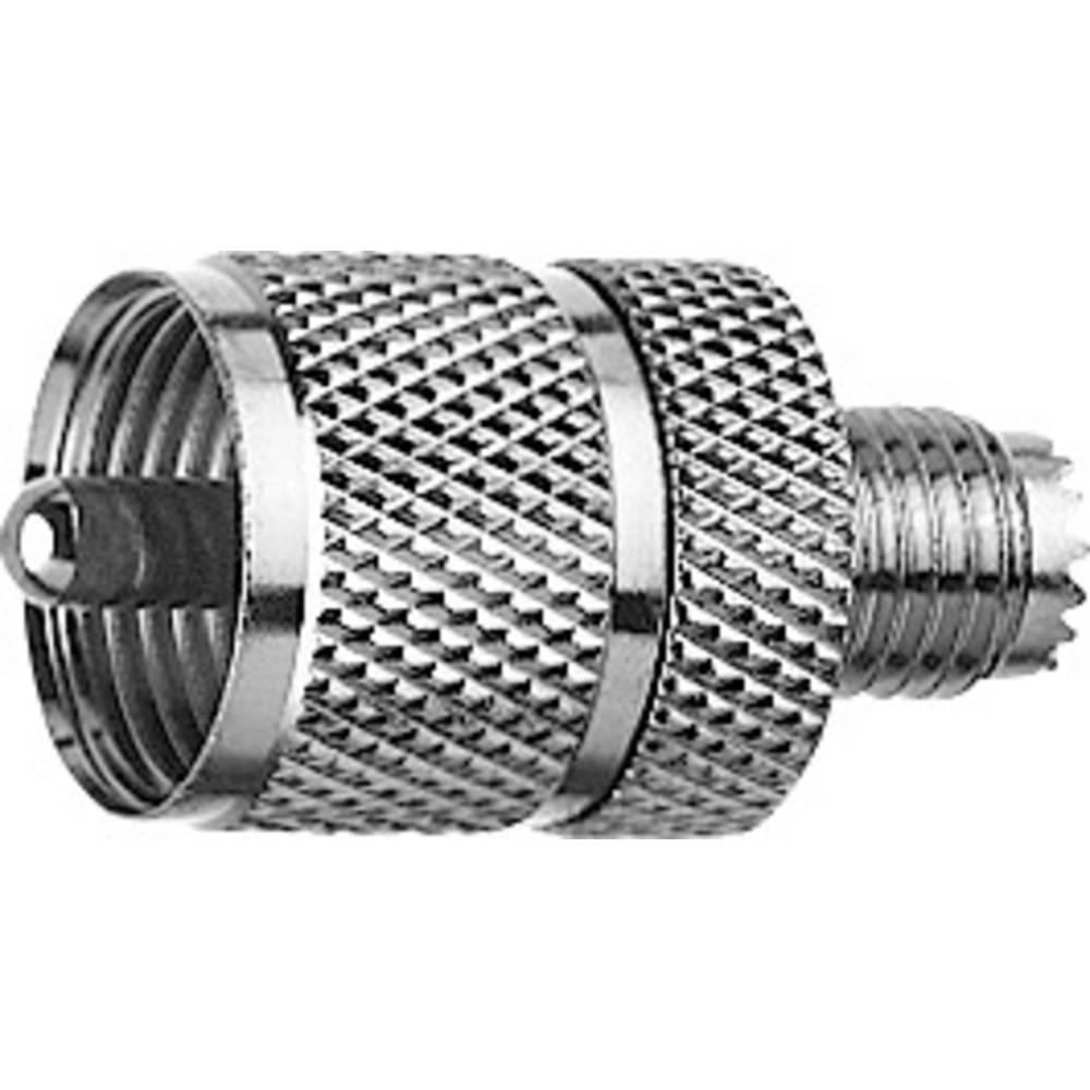 Koax-adapter UHF-stik - Mini-UHF-tilslutning Telegärtner J01043F0002 1 stk