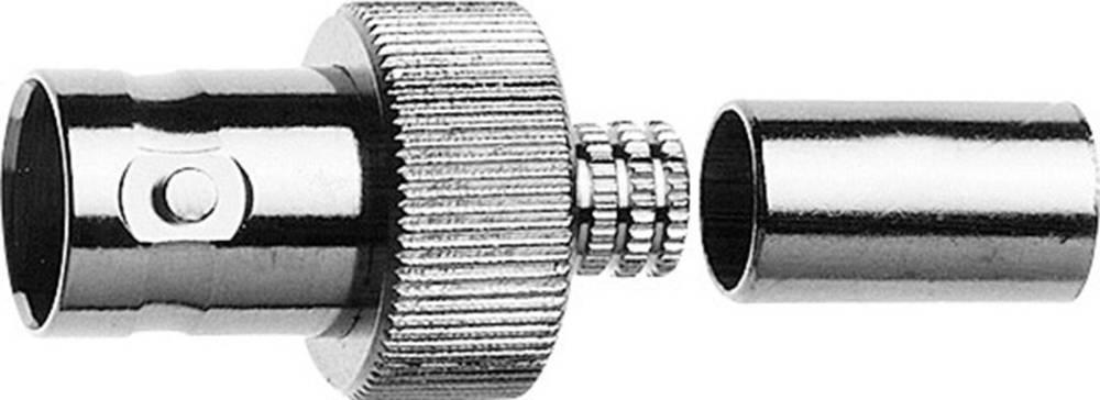BNC-stikforbindelse Telegärtner J01003A1353 75 Ohm Tilslutning, lige 1 stk
