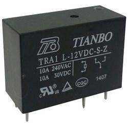 Relej za tiskanu pločicu 12 V/DC 12 A 1 preklopni Tianbo Electronics TRA1 L-12VDC-S-Z 1 kom.