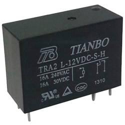 Printrelæ 12 V/DC 20 A 1 x sluttekontakt Tianbo Electronics TRA2 L-12VDC-S-H 1 stk