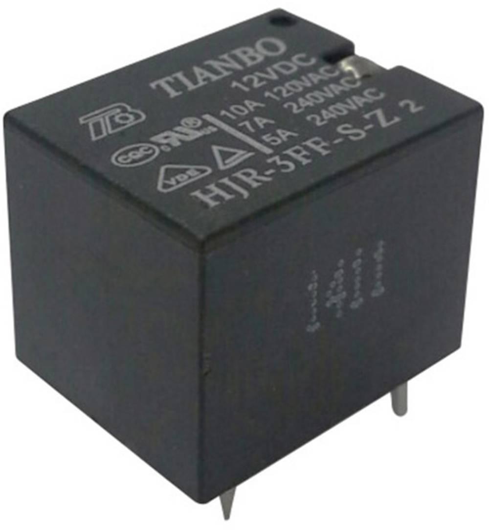 Printrelæ 5 V/DC 15 A 1 x skiftekontakt Tianbo Electronics HJR-3FF-S-Z 5VDC 1 stk