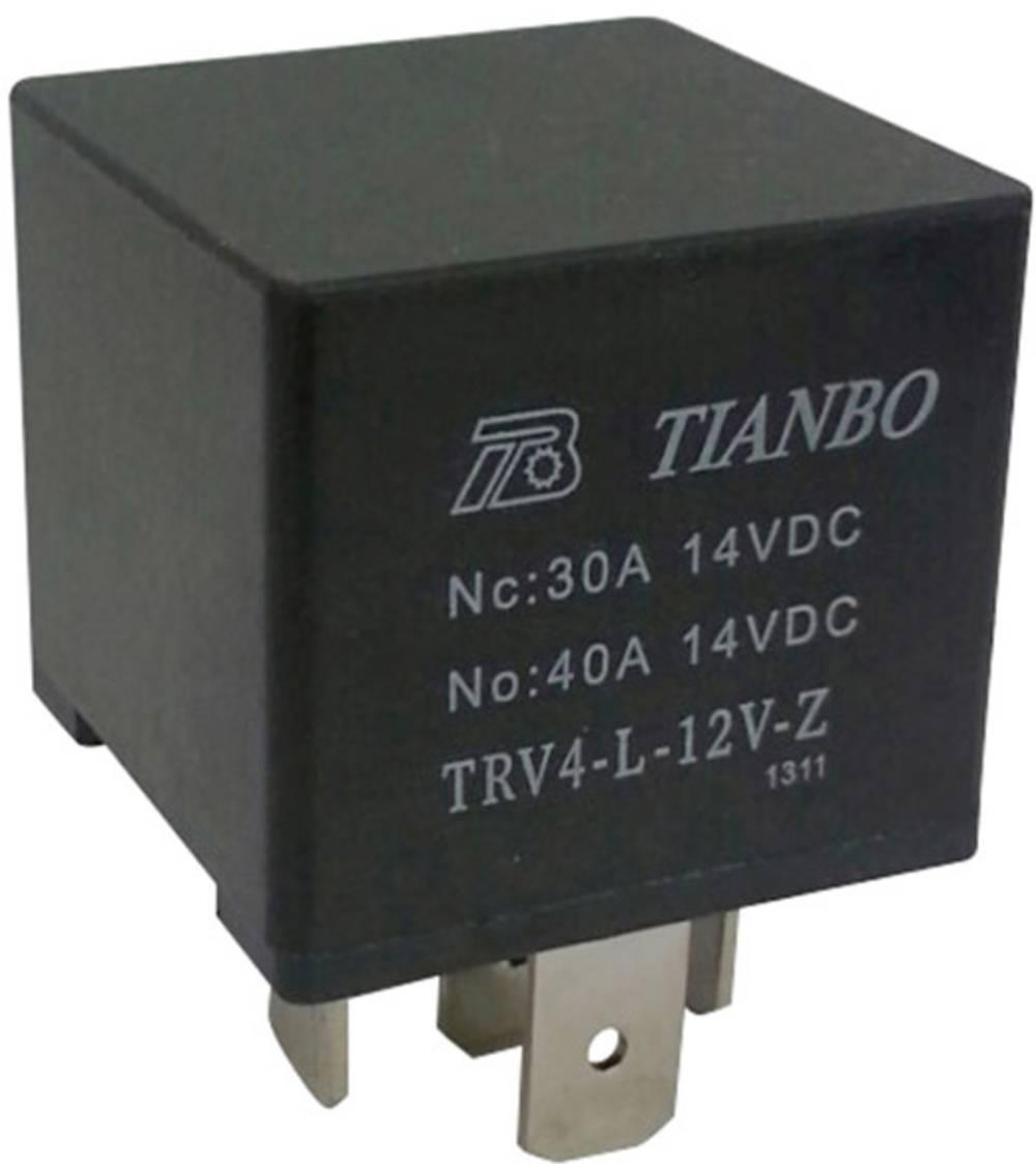 Avtomobilski rele 12 V/DC 1 izmenjevalnik Tianbo Electronics TRV4 L-12V-Z
