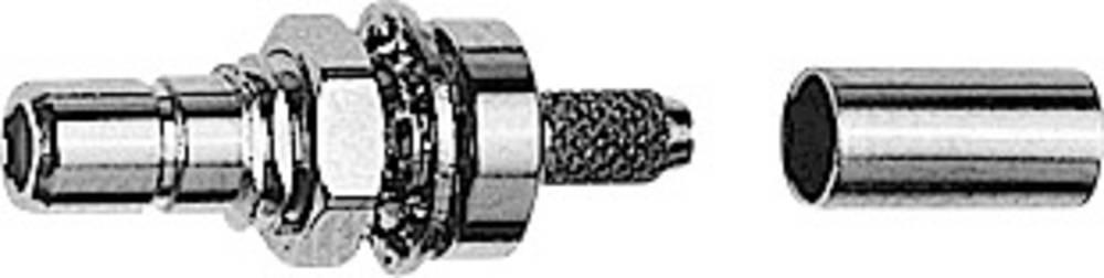 SMB-stikforbindelse Telegärtner J01160A0391 50 Ohm Stik, indbygning 1 stk