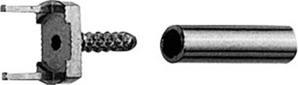 Direkte tilslutning til kabel Telegärtner H01000A0057 Printpladesokkel, lige 1 stk