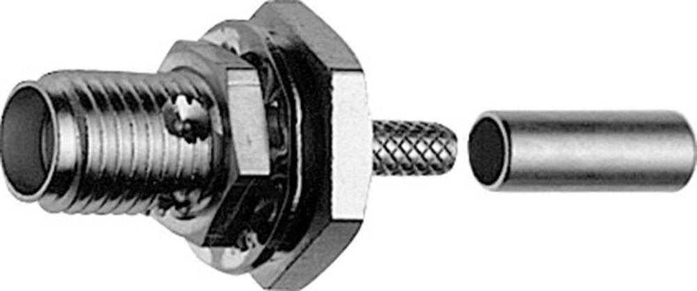 SMA-stikforbindelse Telegärtner J01151A0229 50 Ohm Tilslutning, indbygning 1 stk