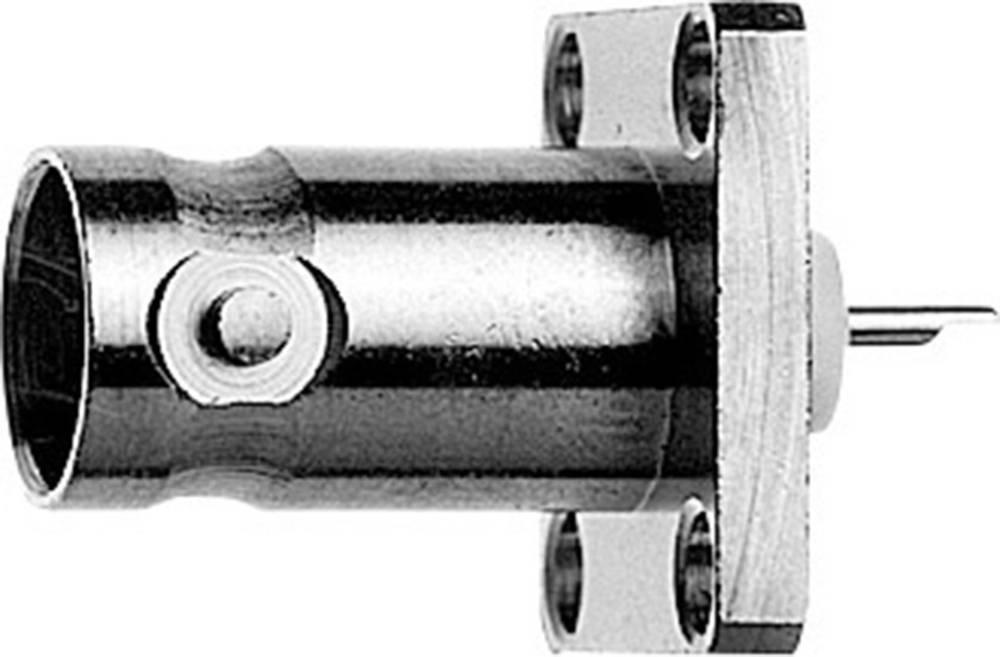 BNC-stikforbindelse Telegärtner J01003A1228 75 Ohm Flangetilslutning 1 stk