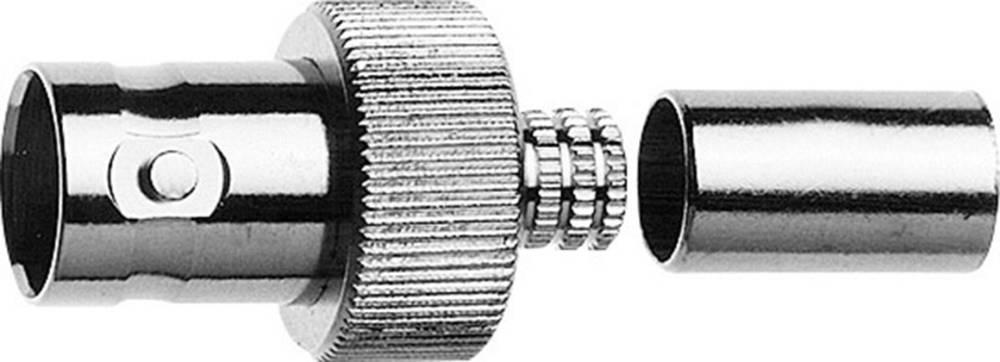 BNC-stikforbindelse Telegärtner J01001A0073 50 Ohm Tilslutning, lige 1 stk