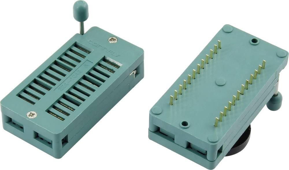 IC-testsokkel Rastermål: 15.24 mm Poltal: 28 1 stk