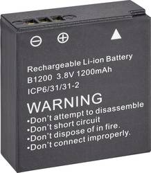 Kamera-batteri Denver 3.8 V 1200 mAh