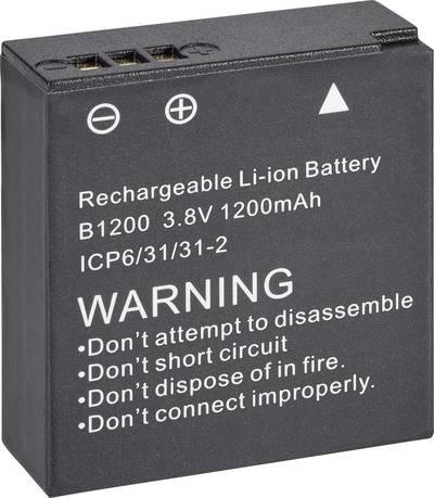 Image of Camera battery Denver 3.8 V 1200 mAh AC
