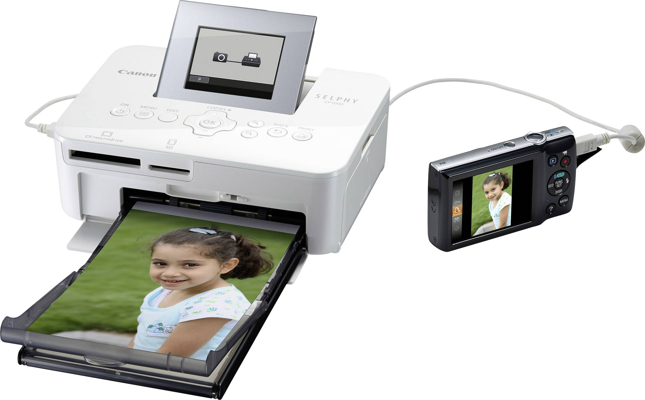 Photo printer Canon SELPHY CP1000 Print resolution: 300 x