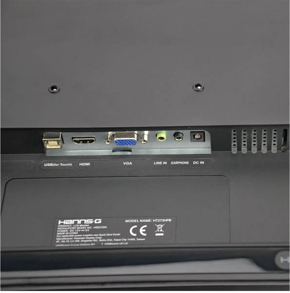 Hannspree Logo: Hannspree HT273HPB Touchscreen EEC: A (A+