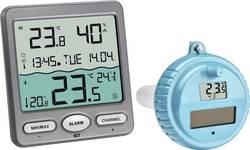 Pooltermometer TFA VENICE Funk-Pool-Thermometer Antracit