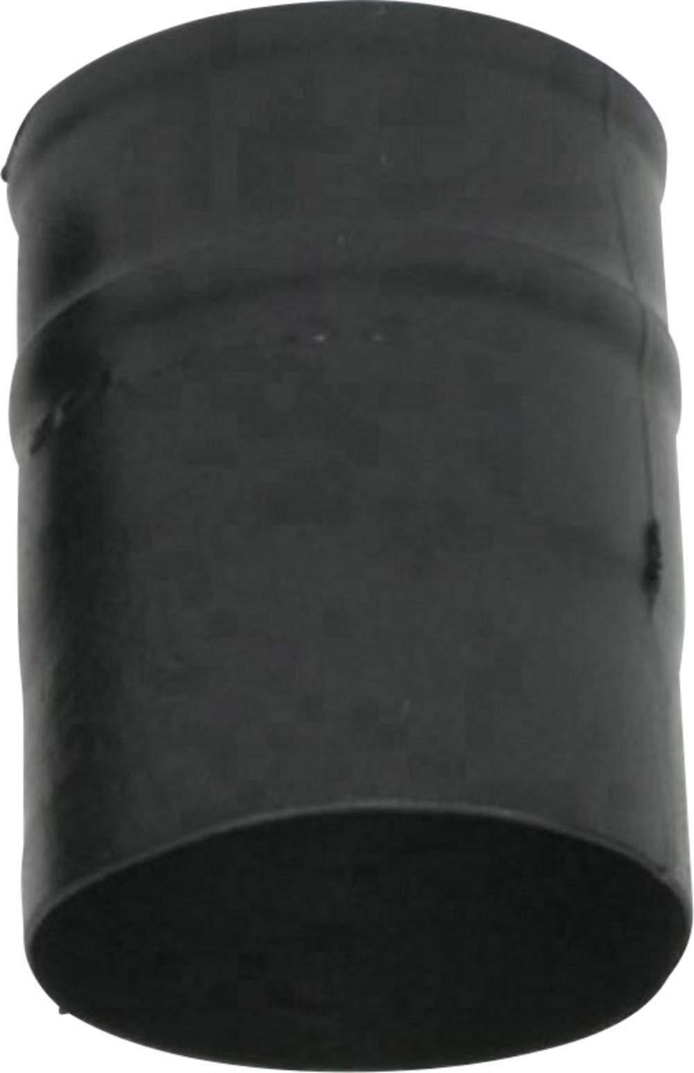 Skupljajuća čahura, ravna, prije/nakon skupljanja: 17 mm/6.9 mm 1 kom. crna