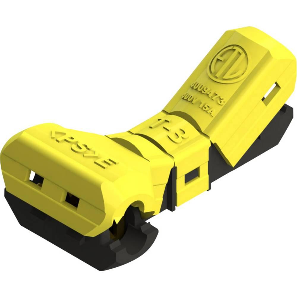 Spojni konektor, fleksibilen: -1.5 mm togost: -1.5 mm število polov: 2 1 kos rumene barve