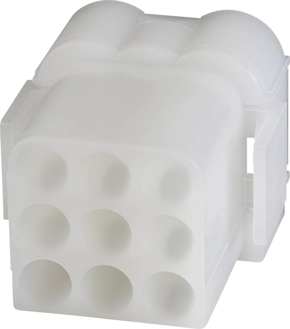 Tilslutningskabinet-kabel .140 MATE-N-LOK Samlet antal poler 9 TE Connectivity 1-480673-0 1 stk