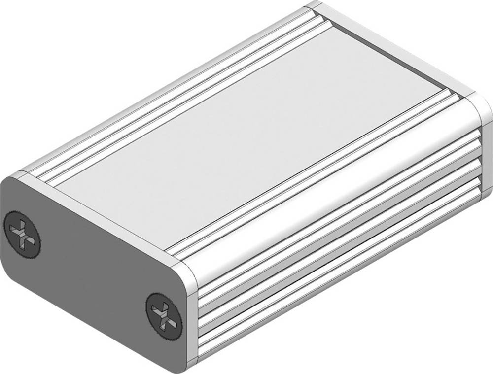 Profilno kućište, eloksirani aluminij, prirodna boja 100 x 55 x 24 Fischer Elektronik AKG 55 24 100 ME 1 kom.