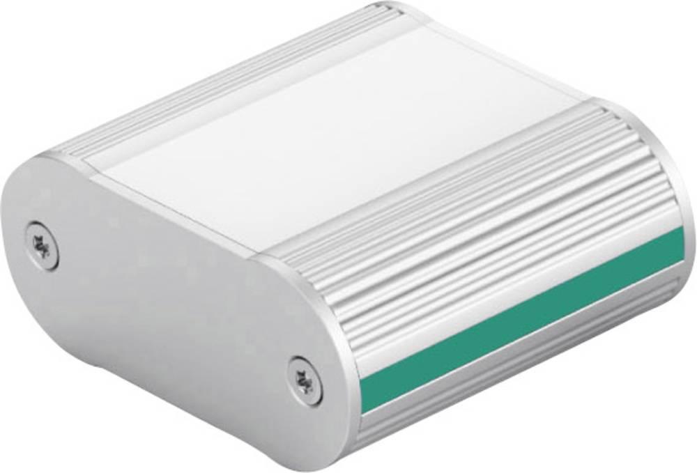Profil-kabinet 100 x 49.3 x 20 Aluminium Eloxeret Sort Fischer Elektronik TON 49 20 100 SA TB 1 stk