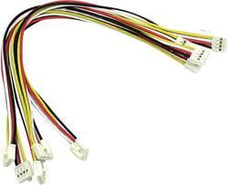 Univerzalni kabel s 4 pina, s kopčama na krajevima, 20 cm