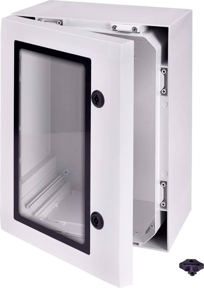 Zidno kućište, instalacijsko kućište ARCA 304015W Fibox 300 x 400 x 150 polikarbonat svijetlosiva (RAL 7035) 1 komad