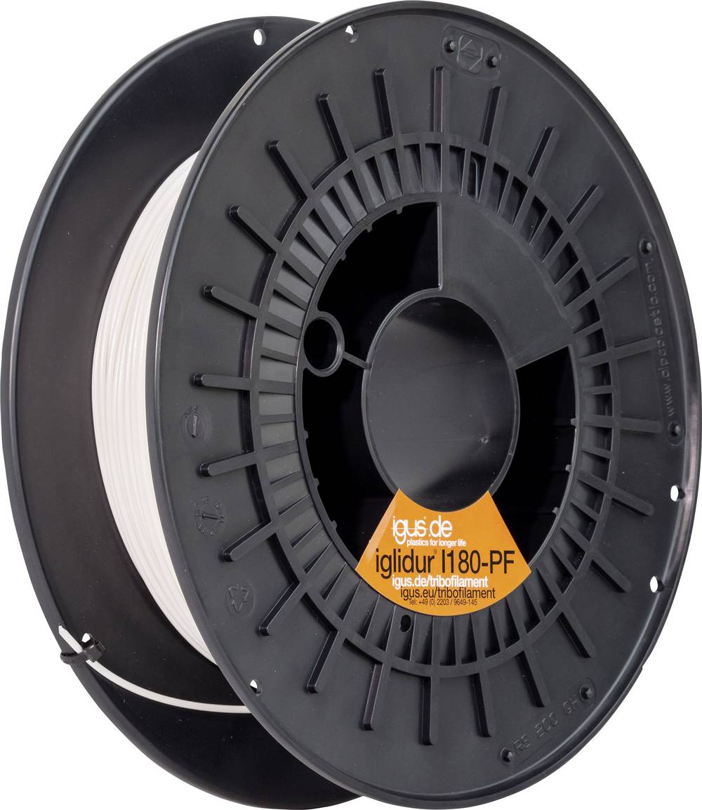 Filament igus I180-PF-0175-0250 iglidur® I180 Tribo plastika 1.75 mm bijeli