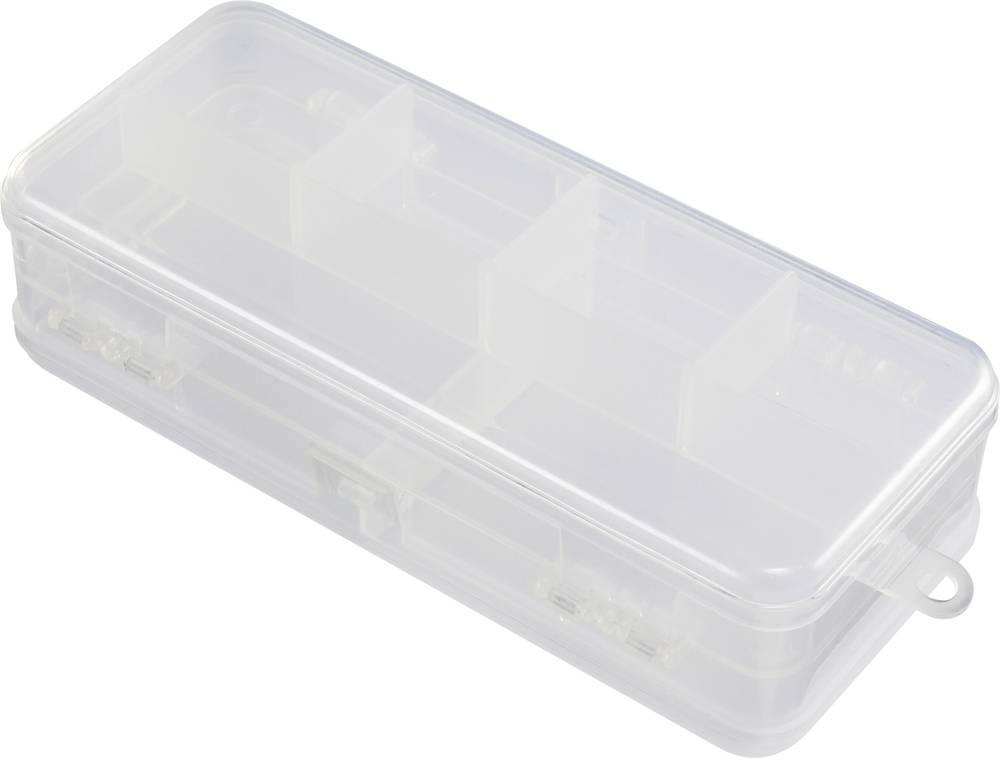 Sortirna škatla (D x Š x V) 182 x 87.2 x 47.2 mm št. predalov: 5 fiksna pregraditev, doppelseitig