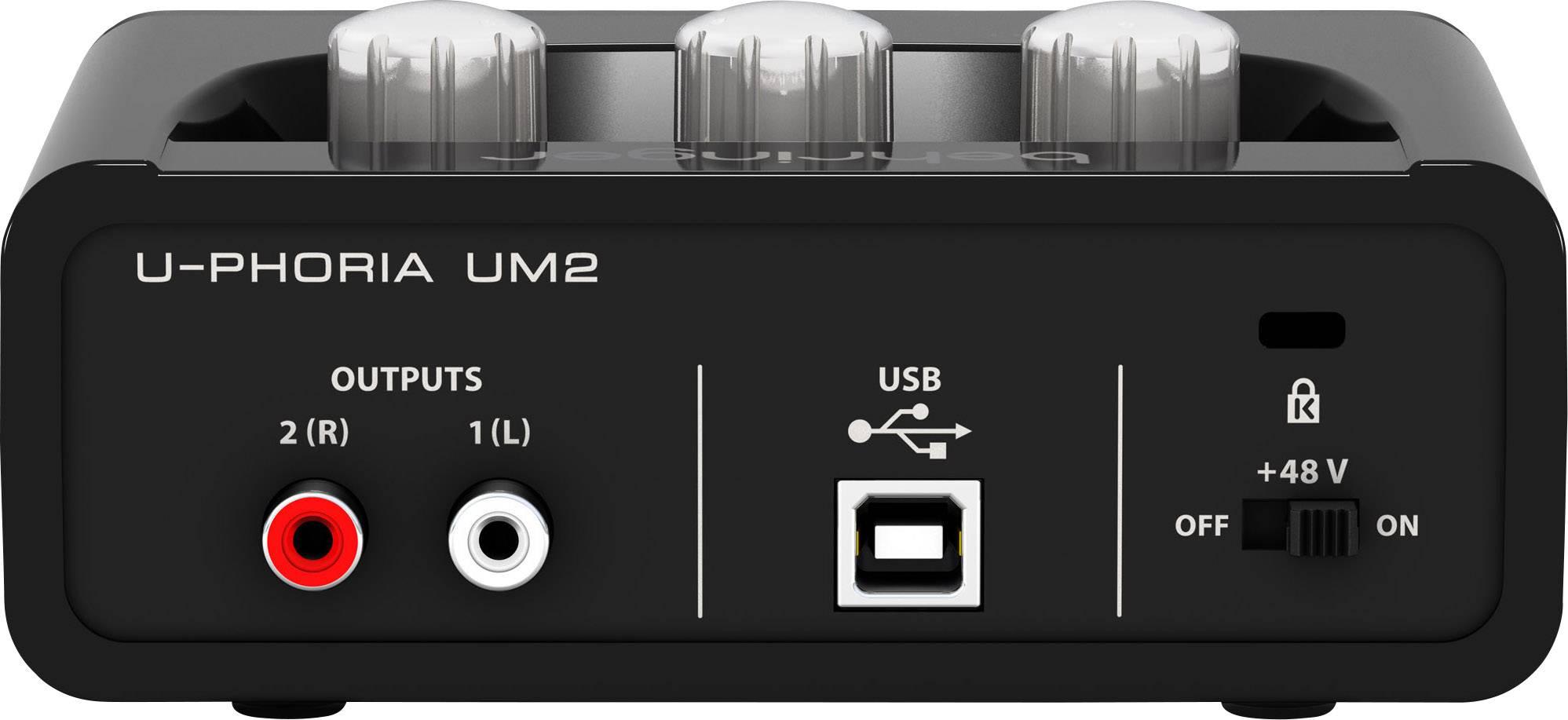Audio interface Behringer UM2 Monitor controlling | Conrad.com