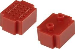 Testna pločica, crvena boja, ukupan broj polova 25 (D x Š) 20 mm x 15 mm Conrad 1 kom.