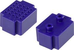 Testna pločica, plava boja, ukupan broj polova 25 (D x Š) 20 mm x 15 mm Conrad 1 kom.