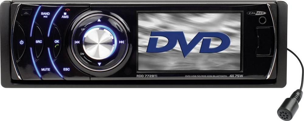Bilradio Caliber Audio Technology RDD772BTi Håndfrit Bluetooth®-system