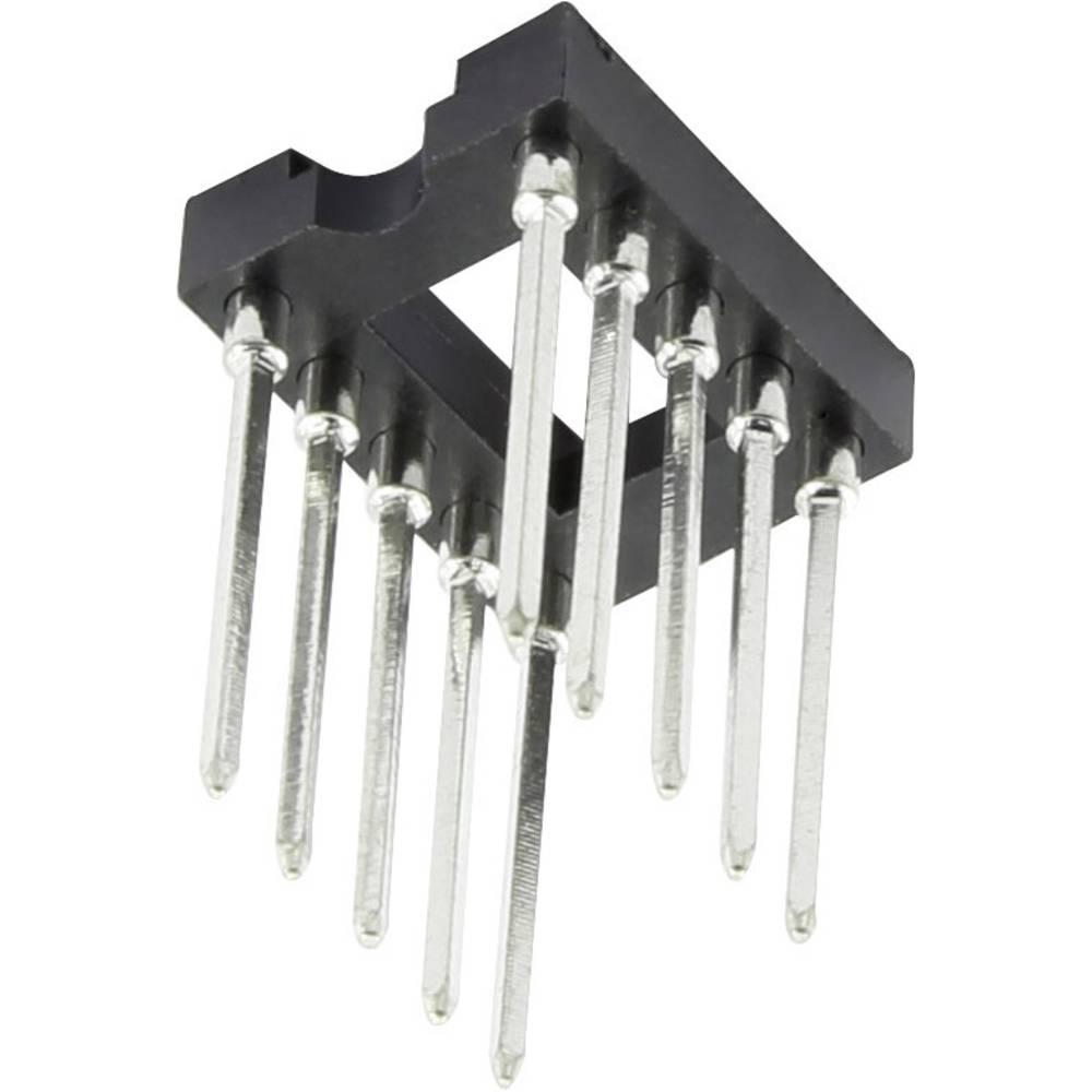 IC podnožje 17.8 mm št. polov: 6, 1 kos