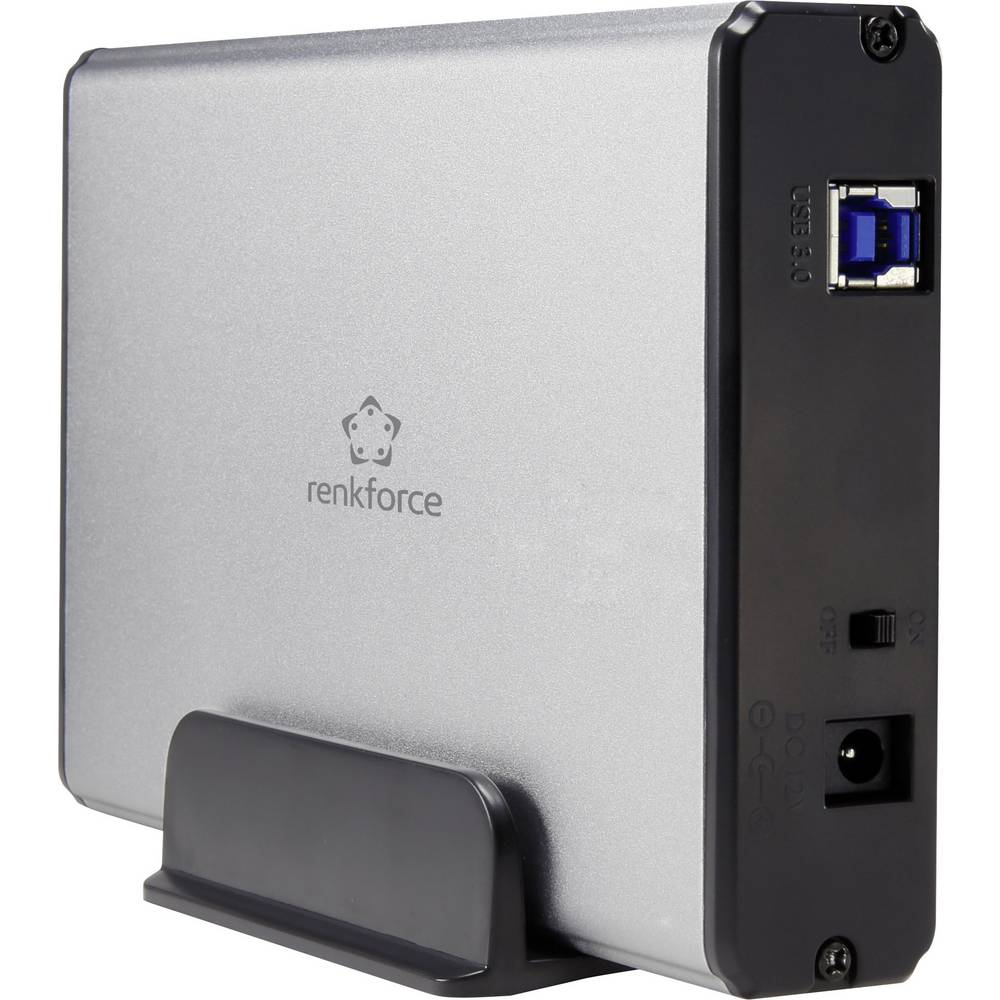 Sata Harddrive Enclosure 35 Renkforce Rf 4116009 Usb 30 From Kabel Iii To For 25 Inch Hdd Ssd With Otg Function