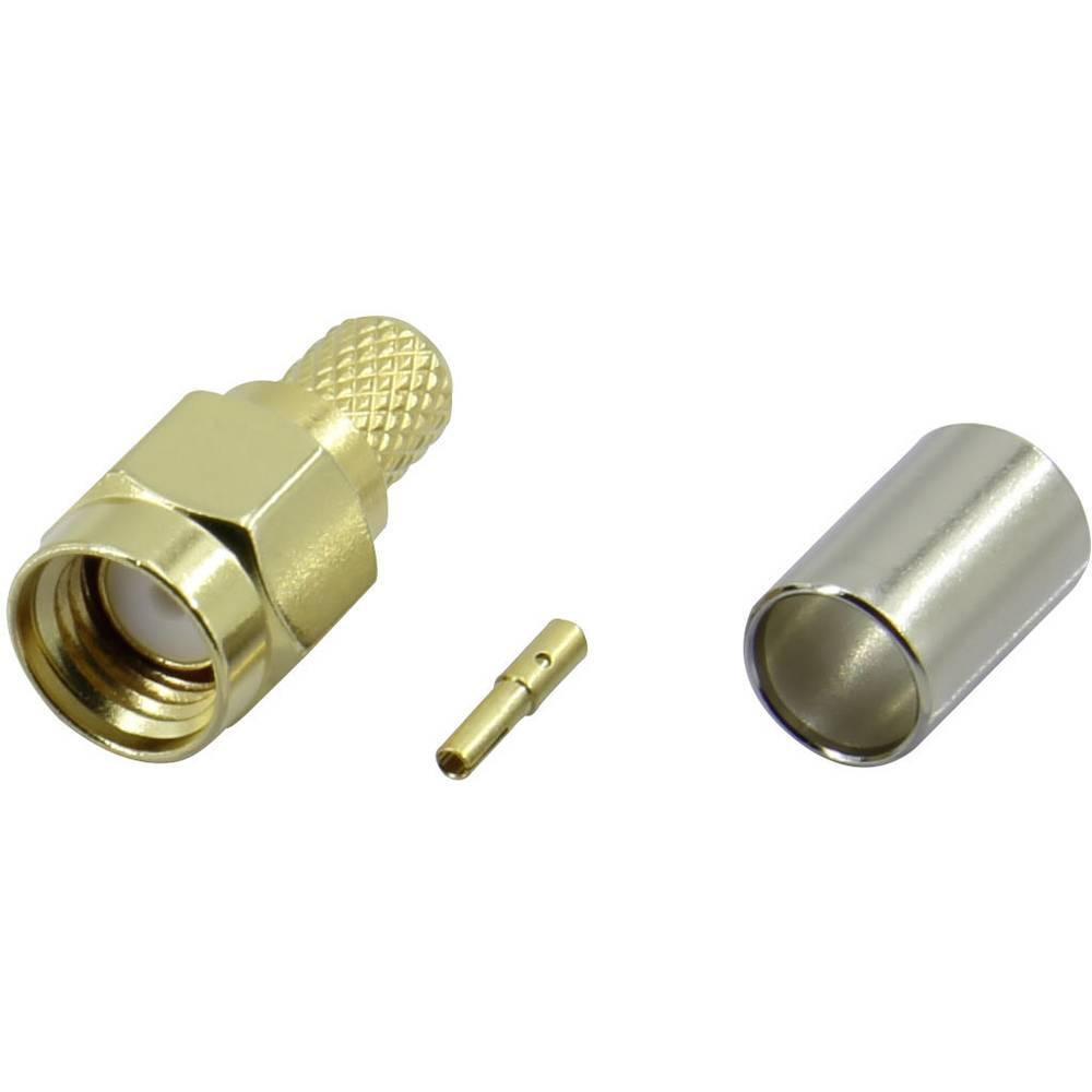 SMA-reverse-stikforbindelse Conrad Components SMA-JC-RG58-2 50 Ohm Tilslutning, lige 1 stk