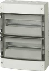 Zidno kućište, kućište za instalacije 7252181 Fibox polikarbonat svijetlosiva (RAL 7035) 430 x 306 x 145 1 kom.