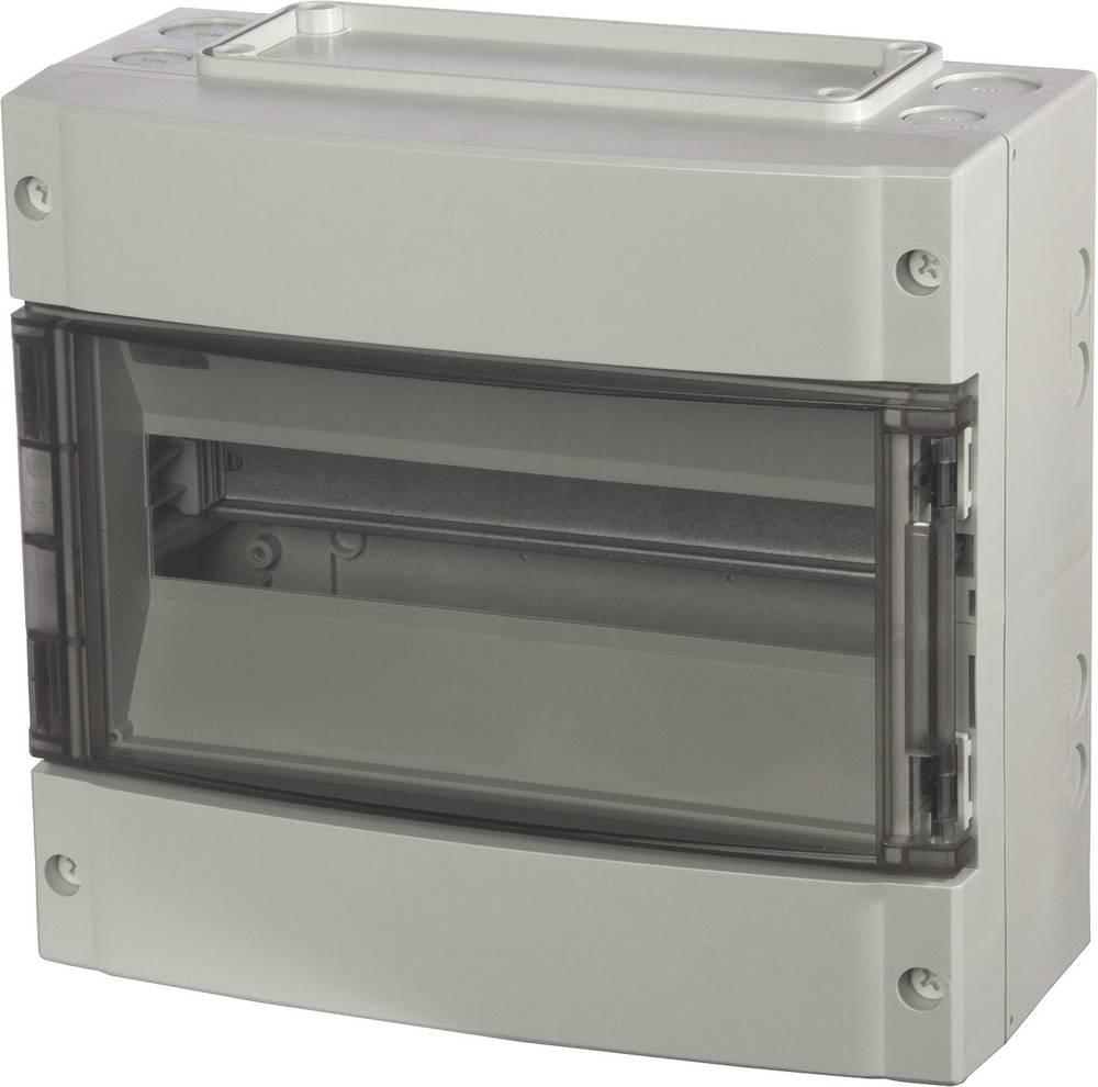 Zidno kućište, kućište za instalacije 7251215 Fibox polikarbonat svijetlosiva (RAL 7035) 280 x 306 x 145 1 kom.
