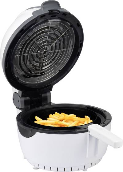 Renkforce ZD1406 Airfryer 1400 W with display, Timer fuction White