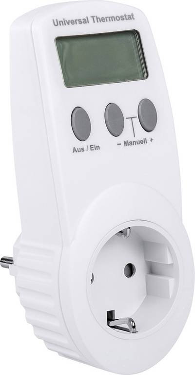 Renkforce UT300 Indoor thermostat Adapter -40 up to 99 °C