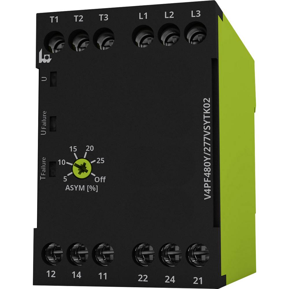 Monitoring Relay 208 480 V Ac 2 Change Overs 1 Pcs Tele From Eih Current