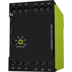 Nadzorni relej napona (3-fazni) tele V4PF480Y/277VSYTK02 nadzor redoslijeda faza i zatajenje faze nadzora