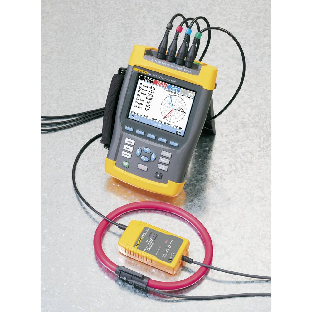 Fluke i6000s flex-36 Clamp meter adapter ATT.FX.METERING_RANGE_AAC: 6 -  6000 A Flexible Calibrated to: Manufacturer's s