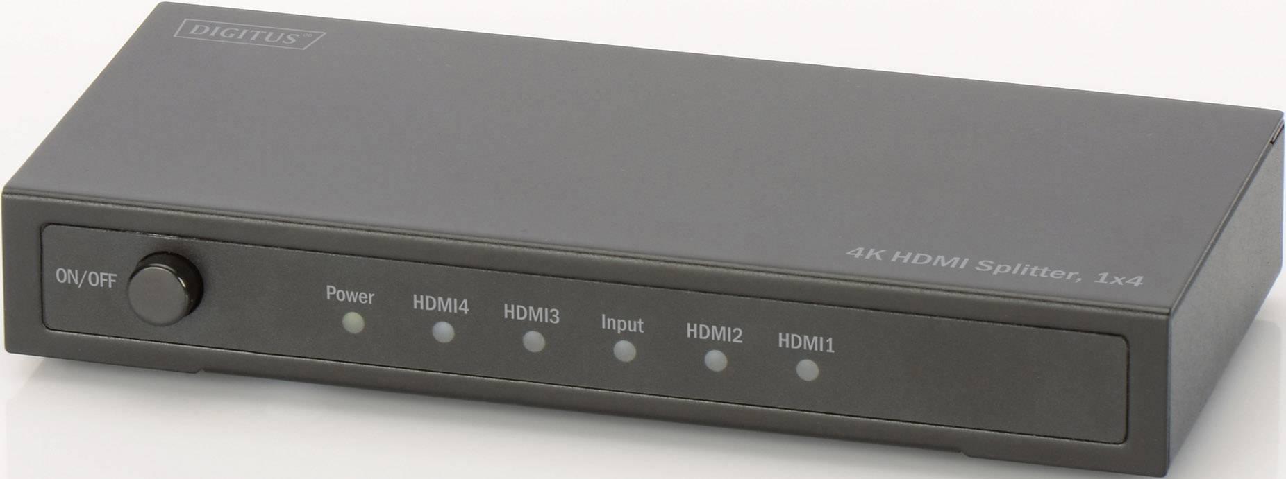 Digitus DS-47304 4 ports HDMI splitter 3D playback mode