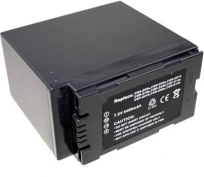 Image of Camera battery Connect 3000 replaces original battery CGA-D54s 7.4 V