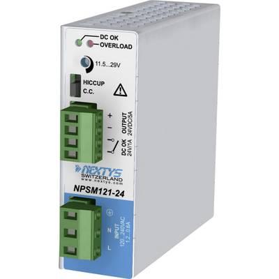 Nextys NPSM121-24 Rail mounted PSU (DIN) 5 A 120 W 1 x