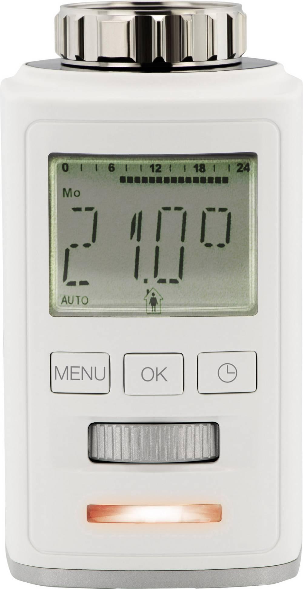 Brezžični radiatorski termostat, elektronski, 8 do 28 °C Sygonix HT100 BT