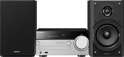 Image of Sony CMT-SX7B Audio system AirPlay, AUX, Bluetooth, CD, DLNA, DAB+, USB, FM, Spotify, Multi-room 100 W Black